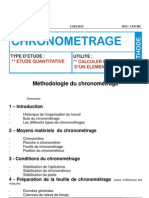 Document Fomation Zkk Methodologie Chronometrage
