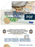 ya - Qué es reconversión monetaria(Yadira Peña)