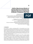 Additive Manufacturing Technologies Applied in Fetal Medicine Researches