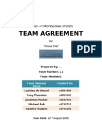 Team Agreement Draft