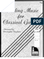 Wedding Music for Classical Guitar - (Book)