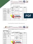 Horarios Pnf Agroalimentacion Trayecto 1, 2, 3 y 4. Febrero -Junio2012