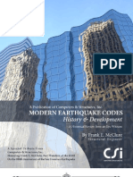 Earthquake Codes History