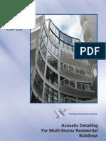 Acoustic Detailing Multi Storey Steel Frame Buildings