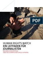 CHINA Hrwreporters German Web
