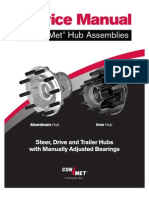 Conmet Manual Hub Service Manual