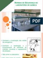 Normas de segurança-Laboratório de química
