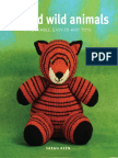 Lion From Knitted Wild Animals by Sarah Keen