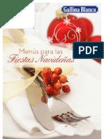 Recetario Para Las Fiestas de Navidad