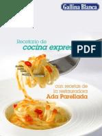 Recetario de Cocina Express