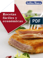 Recetario Recetas Faciles y Economic As