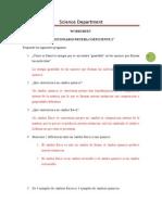 Respuestas Worksheet Coef 2 2° Semestre 6° básicos