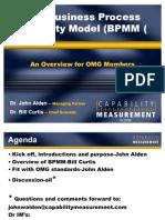 Business Process Maturity Model Overview-OMG-Webinar