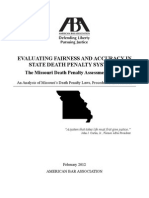Death Penalty Report