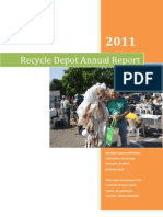 Recycle Depot - 2011 Annual Report