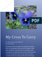 My Cross to Carry