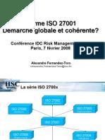 Conference IDC Alexandre Fernandez Toro