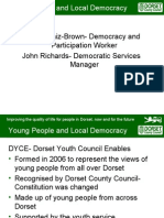Douzelage Dorset Youth Council Enables and UK Youth Parliament
