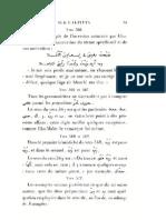 Les prépositions en arabe et les commentaire de De Sacy