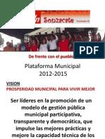 ma Municipal FMLN 2012-2015