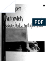Jaspers Karl - Autorytety - Sokrates, Budda, Konfucjusz Jezus