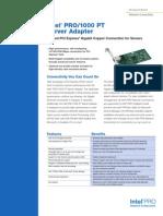 Pro 1000 Pt Server Adapter Brief