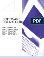 Brother MFC-9840CDW Software User's Guide