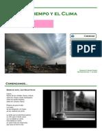 1º ESO Tema 4 Tiemo y Clima