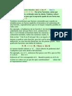 Ejemplos de Funciones Lineales
