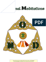 Additional Meditation Exercises (Druidic)