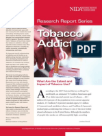 Tobacco Addiction (Research Reports)