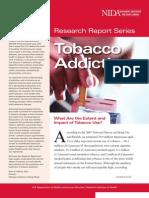 Tobacco Addiction (Research Reports)