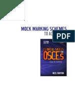 Osce Cases With Mark Schemes Pdf