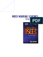OSCES Marking