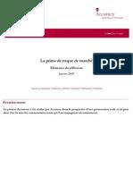 1- Accuracy - La prime de risque de marché (2009)