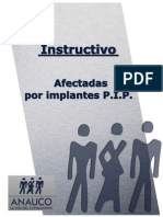 Instructivo de Afectadas PIP elaborado por ANAUCO