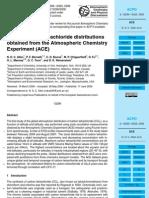 N. D. C. Allen et al- Global carbon tetrachloride distributions obtained from the Atmospheric Chemistry Experiment (ACE)