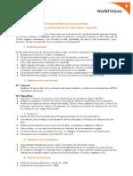 TDR PDA Libertadores - Ayacucho - World Vision Perú