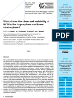 Q. Li et al- What drives the observed variability of HCN in the troposphere and lower stratosphere?