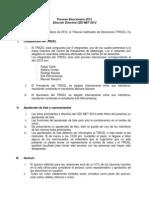 Proceso Eleccionario 2012