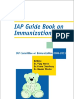 Iap Guide Book on Immunization 2009-2011