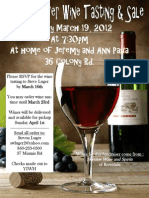 Pesach Wine Tasting and Sale 2012
