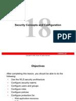 Les 18-Securing WLS