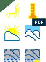 Week12 Pixel Weather Icons