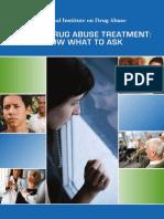 Seeking Drug Abuse Treatment