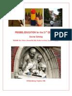 Tiffeni Goesel Froebel Training Brochure