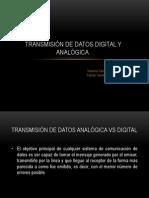 Transmision de Datos Digital y Analogica