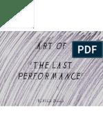 Art Of- The Last Performance