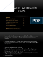 TEMA 13:Aspectos operativos de las técnicas de Investigación social y documentalSocial