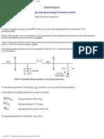 ETAP FAQ Modeling Zig Zag Grounding Transformer